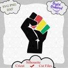 Fist Svg, Black History Month Svg, Black Lives Matter png,Black History is Strong Shirt