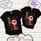 Valentine Love SVG, Valentines Day Svg, love Leopard Buffalo, Valentines Leopard Buffalo