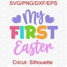 My First Easter svg, Baby Easter svg, Happy Easter svg, Easter Baby svg, My 1st Easter svg
