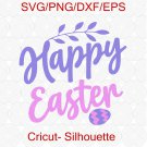 Happy Easter svg, Easter Bunny svg, Easter cut files, Bunny Ears svg, Happy Easter Shirt Design