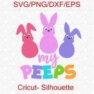 Easter Peeps svg, my peep svg, Easter Peeps png, easter Svg, Peep Svg, Peeps Svg, Cricut, SVG