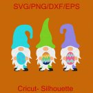 Easter Gnomes Svg, Easter Svg, Gnome Svg, Dxf, Png, Easter Clipart, Easter Shirt Design