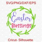 Easter Blessings SVG, Easter Svg Religious, Jesus Svg, Christian Svg, Cross Svg
