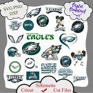Philadelphia eagles bundle logo sport svg, Philadelphia eagles bundle svg, Nfl svg, dxf cutting file