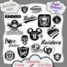 Oakland raiders bundle logo sport svg, Oakland raiders bundle svg, Nfl svg, dxf cutting file