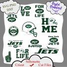 New york jets bundle logo sport svg, New york jets bundle svg, Nfl svg, dxf cutting file