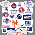 New york giants bundle logo sport svg, New york giants bundle svg, Nfl svg, dxf cutting file