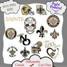 New orleans saints bundle logo sport svg, New orleans saints bundle svg, Nfl svg, dxf cutting file