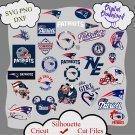 New england patriots bundle logo sport svg, New england patriots bundle svg, Nfl svg