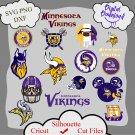 Minnesota vikings bundle logo sport svg, Minnesota vikings bundle svg, Nfl svg