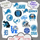 Detroit Lions bundle logo sport svg, Detroit Lions bundle svg, Nfl svg, NCAA Svg