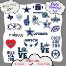Dallas Cowboys bundle logo sport svg, Dallas Cowboys bundle svg, Nfl svg, NCAA Svg