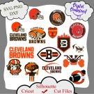 Cleveland Browns bundle logo sport svg, Cleveland Browns  bundle svg, Nfl svg, NCAA Svg