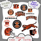 Cincinnati Bengals bundle logo sport svg, Cincinnati Bengals bundle svg, Nfl svg, NCAA Svg
