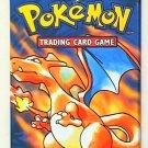 1x RARE Charizard artwork Pokemon Base Set Booster Pack TCG 4th PRINT UK ENGLISH