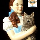 Wizard Of Oz Dorothy & Toto Cookie Jar