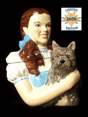 Wizard Of Oz Dorothy & Toto Cookie Jar