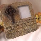 Picture Frame W/ Spike Cross & Thorns