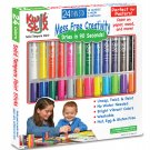 Kwik Stix Thin Stix Solid Tempera Paint Sticks, 24 PK