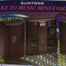 SUNTONE AM/FM DUAL SPEAKER Mini Combo CLOCK RADIO WITH ALARM