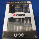 Inland uFixit Bit Driver Kit - 54 Pieces