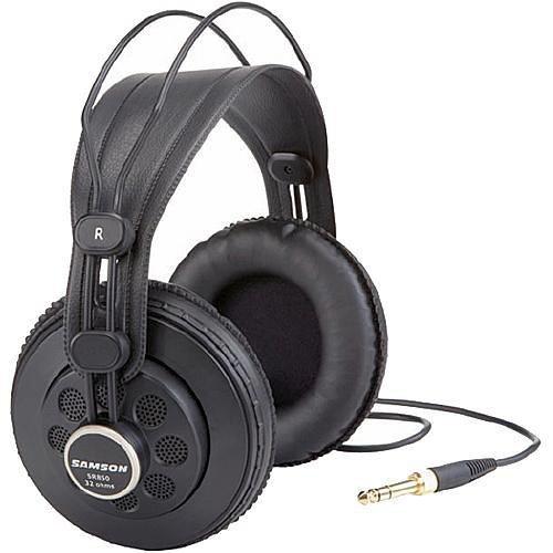 Samson SR850C Semi-Open Studio Headphones (Black)