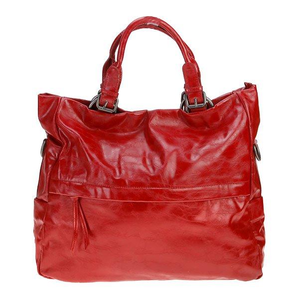 Charlie Shopper Tote Bag ~ Red