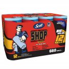 Scott Blue Original Shop Towels 12 Rolls