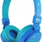Planet Buddies Kids On Ear Headphones - Blue Whale
