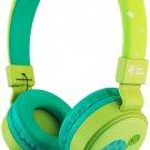 Planet Buddies Kids On Ear Headphones - Green Turtle