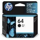 HP 64 Black Ink Cartridge (4mL)