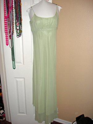 Sleek lt. green pagent dress