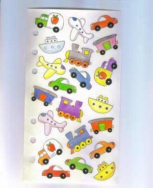 Scrapbooking Sticker STICKOPOTAMUS Toy Automobiles STICKERS Out of Print