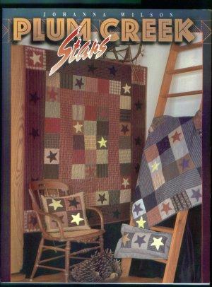 Johanna Wilson Plum Creek Stars Quilting Pattern Book