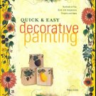 QUICK & EASY DECORATIVE PAINTING  Peggy Jessee Softbound Book