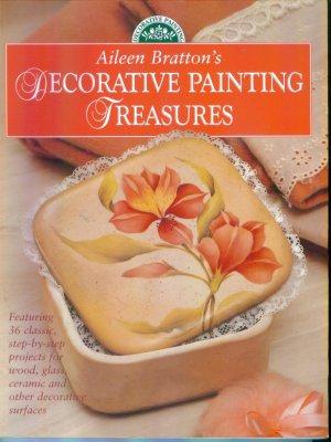 AILEEN BRATTON'S  DECORATIVE PAINTING TREASURES Softbound Book