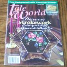 TOLE WORLD February 2004 Discover Strokework Back Issue Magazine