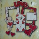 Scrapbooking DIE CUT Cuts FRAME UPS by MY MIND'S EYE Valentine Fun Pack FPS001