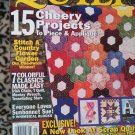 Quilt Spring 2003 Back Issue Magazine Quilting Pattern locm10