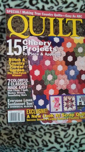 Quilt Spring 2003 Back Issue Magazine Quilting Pattern locm10