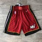 Men's Miami Heat  Shorts Red