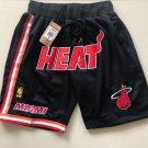 Men's Miami Heat   Shorts Black