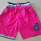 Men's Miami Heat   Shorts Pink City
