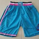 Men's Miami Heat   Shorts Blue City