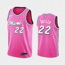 Men's Miami Heat #22 Jimmy Butler Pink jersey