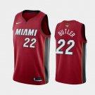 Men's Miami Heat Jimmy Butler #22 Red jersey
