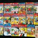 Rare Vintage Archie comic collection 1–666 complete set (1942-2015) png