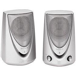 Sony SRS-A27 Desktop Personal Speakers 2-Way Power Supply