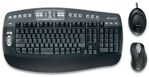 Microsoft s5100001 Wireless Optical Elite Combo, Keyboard & Mouse
