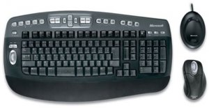 Microsoft s5100001 Wireless Optical Elite Combo, Keyboard & Mouse